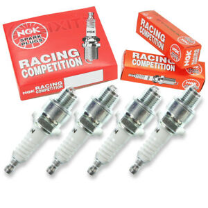 4 Pc 4 X Ngk Racing Plug Spark Plugs 2844 R5525 11 2844 R552511 Tune Up Kit Dg