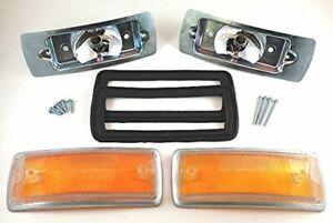 Vw Type 2 Bus 1968 1972 Baywindow Front Turn Signals Kit Complete