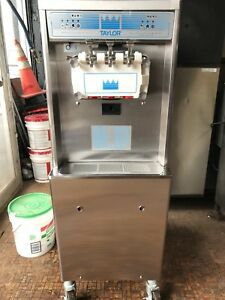 Taylor Ice Cream Machine Soft Serve 3 Flavor Machine Model Number 791 33