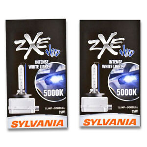 Sylvania Silverstar Zxe High Beam Low Beam Headlight Bulb For Buick Lacrosse Wv