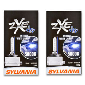 Sylvania Silverstar Zxe High Beam Low Beam Headlight Bulb For Freightliner Wh