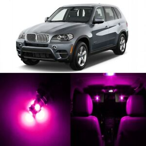22 X Error Free Pink Led Interior Light Kit For 2007 2015 Bmw X5 Series Tool