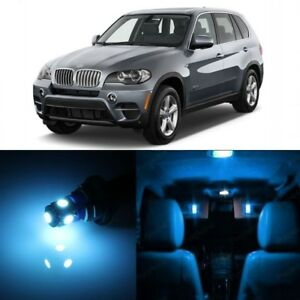 22 X Error Free Ice Blue Led Interior Light For 2007 2015 Bmw X5 Series Tool