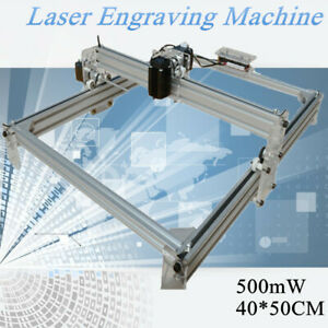 40x50cm Laser Engraving Engraver Marking Printer Logo Diy Machine Kit 500mw Usa