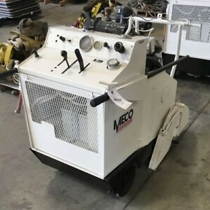 Meco M37s Walk Behind Concrete Saw