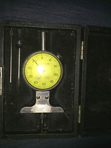Starrett Depth Gage Model 644 With Federal Indicator