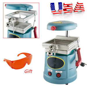 Dental Vacuum Forming Molding Machine Former Heat Thermoforming goggles Glasses