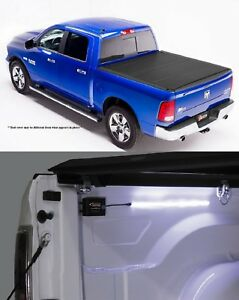 Bak Industries Bakflip Mx4 Cover 18 Battery Led Light For Ram 1500 68 Bed