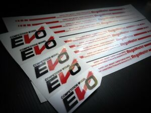 Sticker Evo Regamaster