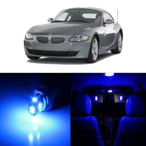 10 X Blue Led Interior Light Package For 2003 2008 Bmw Z4 E85 E86 Pry Tool