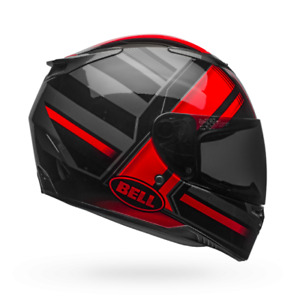 Bell RS-2 Street Sport Motorcycle Riding Touring Helmet Tactical Red Black Grey