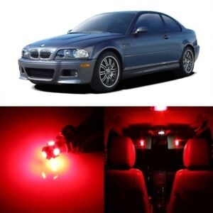 16 X Red Led Interior Light Package For 1999 2005 Bmw 3 Series M3 E46 Tool