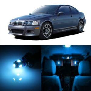 16 X Ice Blue Led Interior Light Kit For 1999 2005 Bmw 3 Series M3 E46 Tool