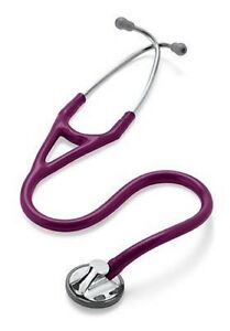 Littmann Master Cardiology Stethoscope 27 Plum Includes Free Gifts