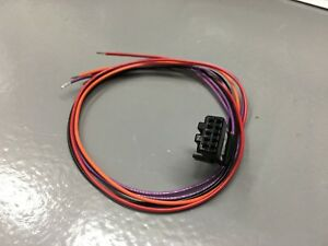 New 10 Pin 5 Wire 16 Pigtail For Gentex Homelink Mirrors New