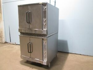market Forge M2700hec Hd Commercial Natural Gas Double Stacked Convection Oven