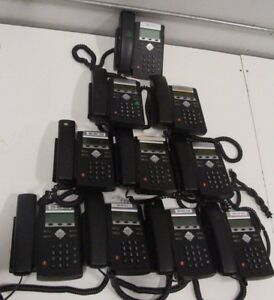 Lot Of 10 Polycom Soundpoint Ip 321 2201 12360 001 Business Phone W o Stands
