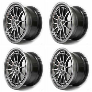 Enkei Nt03 M In Hyper Silver Set Of 4 18x9 5 Rims 5x108 40mm For Focus St Rs