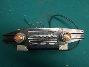 Cadillac Am Fm Cb Radio Cassette 70 S 80 S Rare Deville Coupe Sedan Turns On