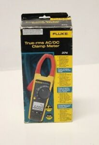 Fluke Multimeter 374 True Rms Ac dc Clamp Meter pds003679
