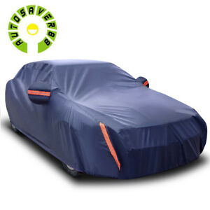 15ft Universal Car Cover Waterproof All Weather Protection Dust Uv Resistant Fits Bmw