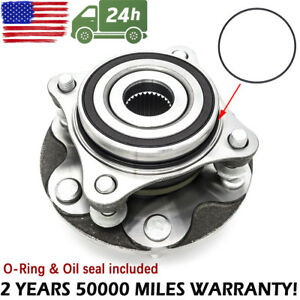 Front Wheel Bearing Hub Assembly Kit Fit For 2005 15 Toyota Tacoma 4x4 4runner