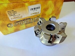 Ingersoll 2 5 Face Mill Dj5p 25r01 Dipos hexa Milling Cutter Rough finish Mill