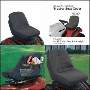 Riding Lawn Mower Seat Cover Garden Tractor Medium 12 5 14 h Without Armrests
