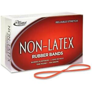 Latex free Orange Rubber Bands Size Case Pack 4