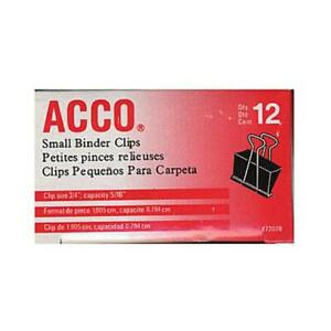 Acco Binder Clips 3 4 In Case Pack 9