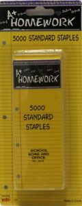 Staples Standard Size 26 5000 Boxed Case Pack 48