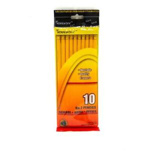 Pencils No 2 10 Count Case Pack 48