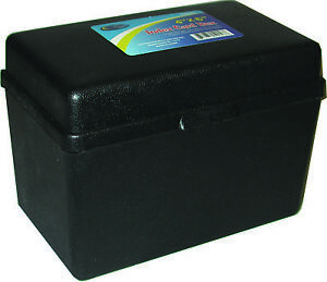 Index Card Plastic Storage Box 4 X 6 Case Pack 36
