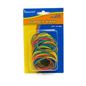 Assorted Colors Rubber Bands Case Pack 48