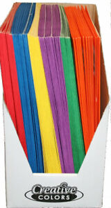 Two Pocket Paper Folders Case Pack 100