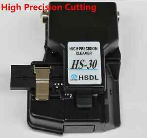 New Optical Fiber Cleaver Hs 30 High Precision Cutting Cut Tools High Quality