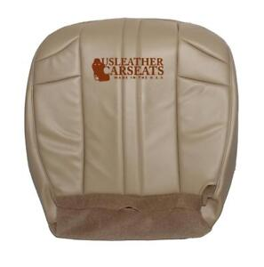 2002 Jeep Grand Cherokee Driver Side Bottom Synthetic Leather Seat Cover Tan