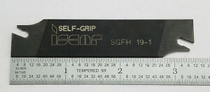 Iscar Self Grip Grooving Parting Tool Holder Sgfh 19 1 11a e0096