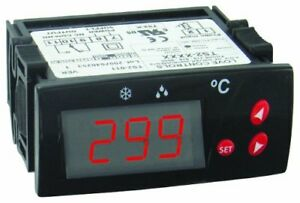 Dwyer Love Series Ts2 Digital Temperature Switch Red Display 110 Vac Supply