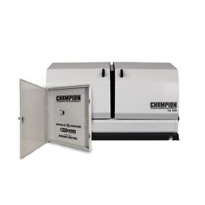 14kw Champion Home Standby W 200amp Automatic Demand Control Switch 100294 New