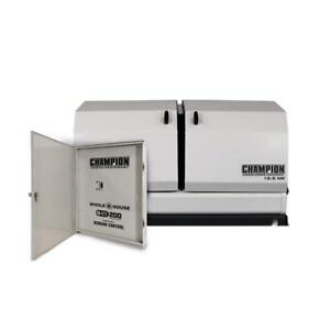 Champion 12 5kw Home Standby W 200amp Automatic Demand Control Switch 100291