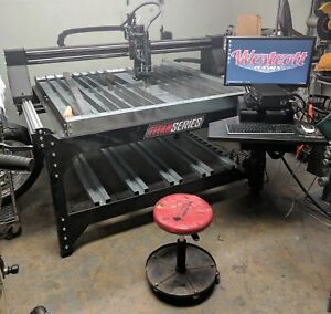 Westcott Cnc Plasma Table 4x4 Titan Turnkey Solution