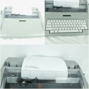 Brother Sx 4000 Electronic Typewriter Lcd Display Dictionary Correction Tested