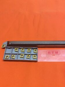 3 4 Precision Cnc Tooling Boring Bar With 10 Insters