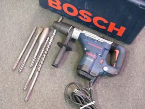 Bosch 11241evs 1 9 16 Corded Rotary Hammer Drill With 5 Bits