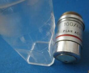 Reichert Plan Achro 100x Oil 100 1 25 Microscope Objective