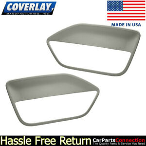 Coverlay Replacement Door Panel Insert Light Gray 12 59 lgr For Ford Mustang