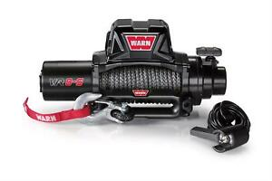 Wrn96805 Warn Vr8s 8 000lb Synthetic Winch 8 000 10 500lbs