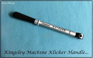 Kingsley Machine Clicker Handle Hot Foil Stamping Machine