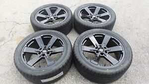 Black Chevy Silverado Tahoe 22 Wheels Rims Tires Gmc Sierra Yukon Denali Ck162